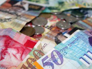 שקלים - שטרות כסף - אילוסטרציה