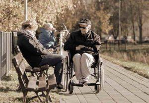 נכים - כיסא גלגלים - אילוסטרציה
